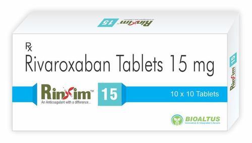 Rivaroxaban 15Mg Tablet