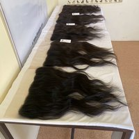 Raw Brazilian Unprocessed Virgin Remy Human Hair Bundle With Hd Lace Closure Frontal 4x4 13x4