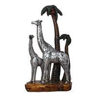 Polyresin Giraff Family Showpiece