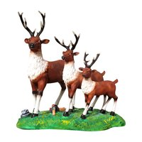 Polyresin Deer Showpiece Set