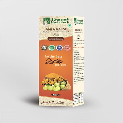 Herbal Amla Haldi Juice