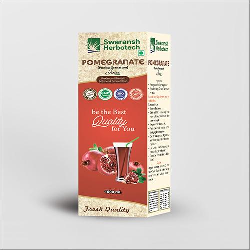Herbal Pomegranate Juice