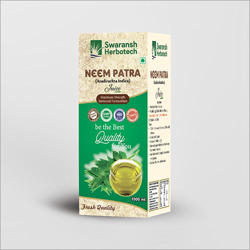 Herbal Neem Patra Juice