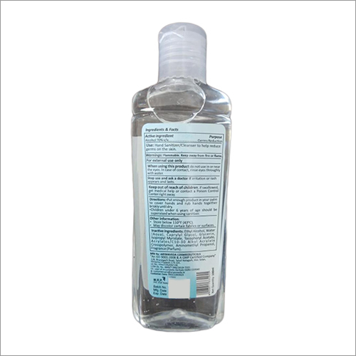 100 ML Hand Sanitizer-Cleanser