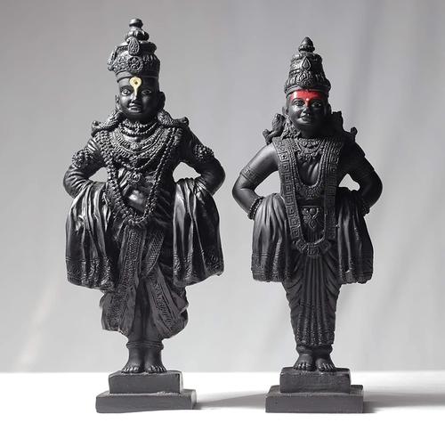 Marble Vittal Rukmani statue