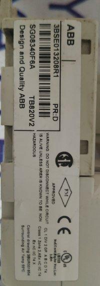 ABB CLUSTER MODULE 3BSE013208R1