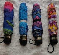 3 fold print umbrella