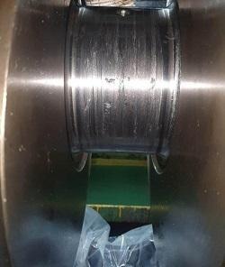 MAN 9 ASL 25/30 Crankshaft  Repair/in situ Crankshaft Grinding RA Power Solutions