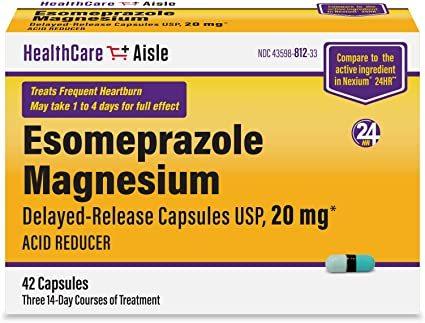 Esomeprazole Delayed Release Capsule Certifications: Iso/Gmp/C-Gmp/Whogmp/Usfda/Eup