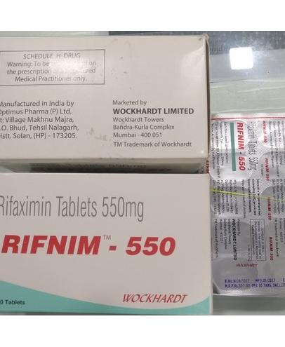 RIFNIM 55O TABLET Rifaximin