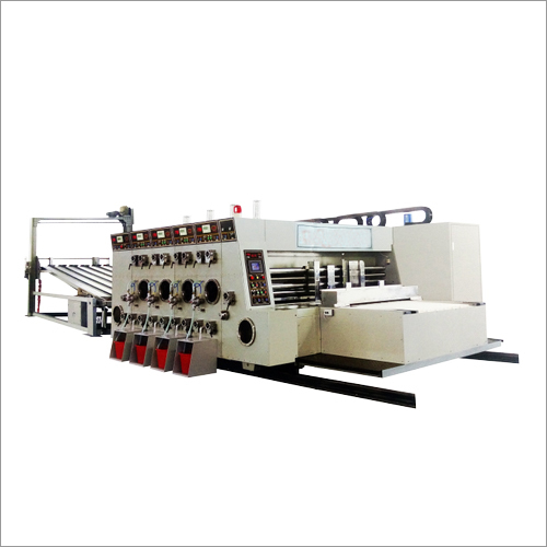 Printing Machine With Slotting ,Die Cutting ,With Stacker, Lead-Edge feeding
