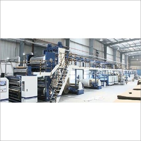 Fully Automatic Board Plant (Design Speed -100 Mtr To 180 Mtr) Per Minute Natraj Industries