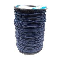 2.5 Mm Round Braided Elastic Ss-2429 Dk. Blue Pantone 19-3938 Tpg Twilight Blue