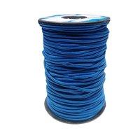 2.5 Mm Round Braided Elastic Ss 0372 Spg Blue Pantone 18-4250 Tpg Indigo Bunting