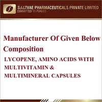 Lycopene, Amino Acids With Multivitamin And Multimineral Capsules