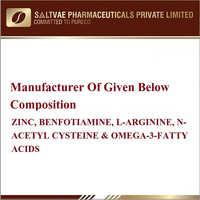 Zinc Benfotiamine L-Arginine N-Acetyl Cysteine And Omega-3 Fatty Acids