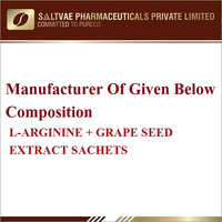 L-Arginine Grape Seed Extract Sachets