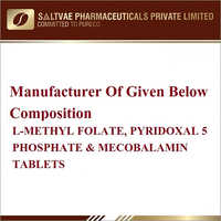 L-Methyl Folate Pyridoxal 5 Phosphate And Mecobalamin Tablets