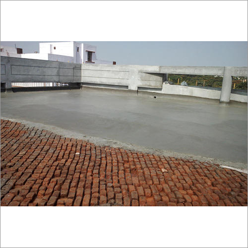 Terrace Finishing With Brick Bat Coba Services