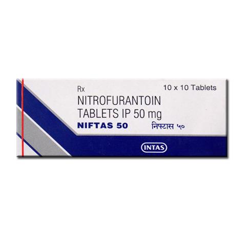 NIFTAS 50 MG TABLET Nitrofurantoin Tablets