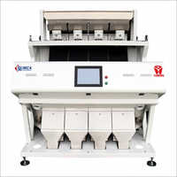 High Resolution Trichromatic Full Color CCD Rice Color Sorter Machine