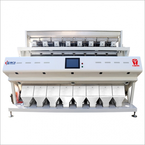 8 Chute RGB Color Rice Sorter Machine