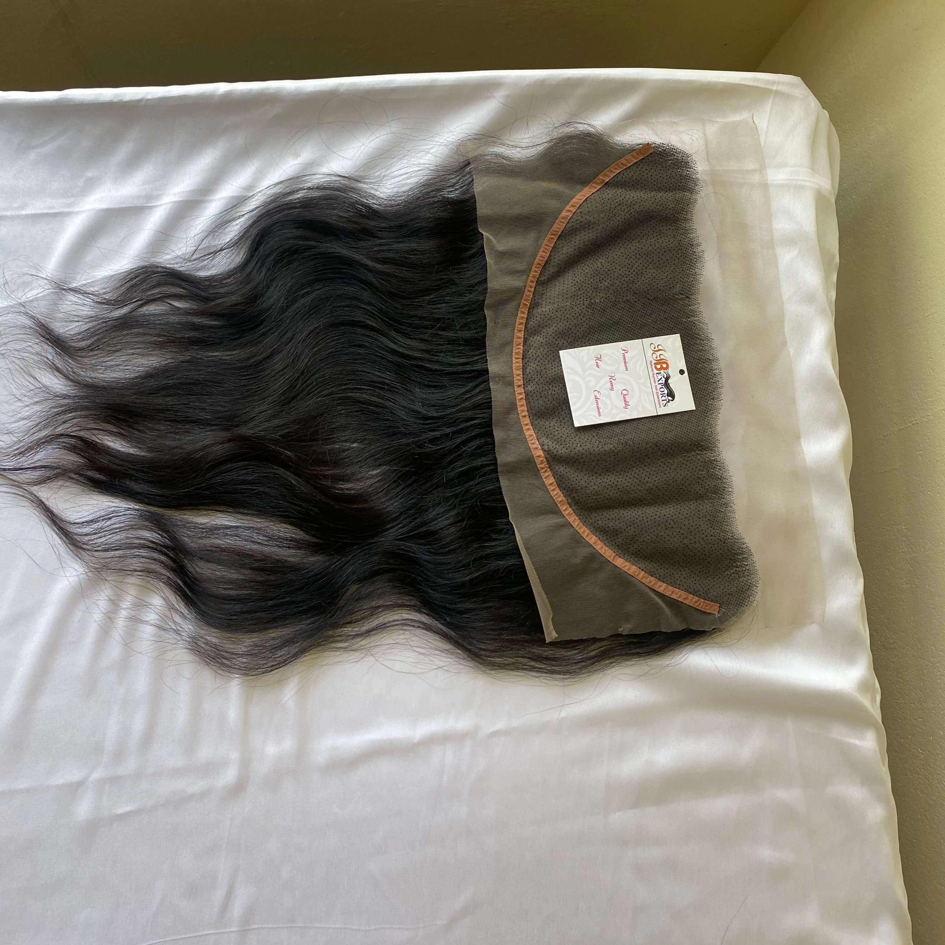 Cuticle Aligned Raw Virgin Hair Hd Lace Closures And 13x4 Frontals With Hair Bundles