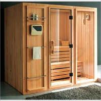 Spruce Wood Sauna Bath Cabin
