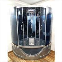 Multi Functional Glass and Aluminium Steam Room Bath