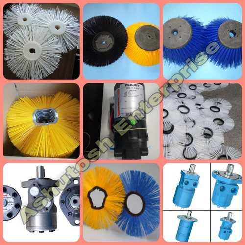 Hydraulic broomer Spare parts