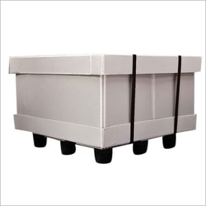 Polypropylene Pallet Sleeves Box With Lid