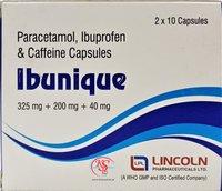 Ibuprofen and  Paracetamol and Caffeine Capsules