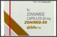 ZONIMID 50 MG CAMPSULE Zonisamide (50mg)
