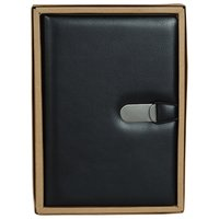 Clip-On Notes - A5 Size - (Black)