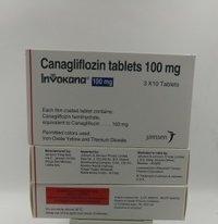 Invokana 100mg Tablet (Canagliflozin (100mg)
