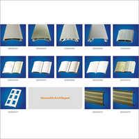 Aluminium Alloy Roller Shutter Door Section