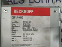 BECKHOFF FANLESS CONTROL CABINET INDUSTRIAL PC C6915-0010
