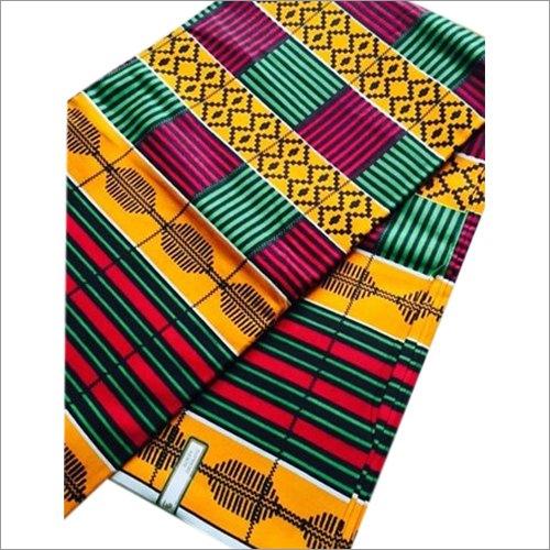 African Kente Fancy Wax Printed Fabric