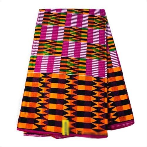 African Kente Wax Printed Fabric