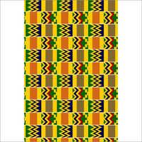 100% Cotton African Kente Fabric