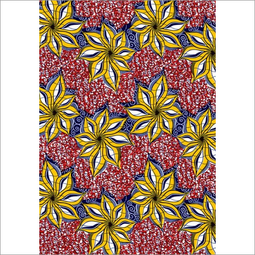 African Poly Cotton Fabric