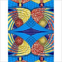 Java Wax Cotton Printed Fabric