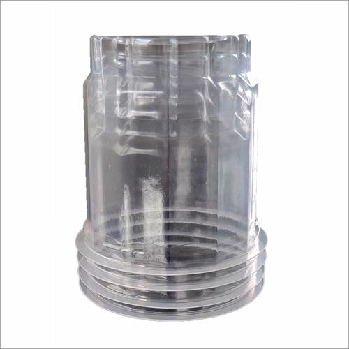 350ml Hexagonal Shape Plastic Glass