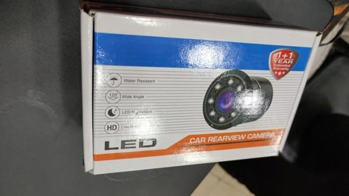 Car Rear View Metal 8 LED Camera