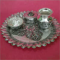 925 Silver Antique Pooja Items