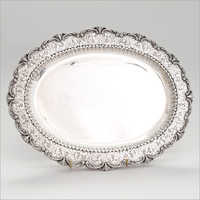 Silver Antique Decorate Tray