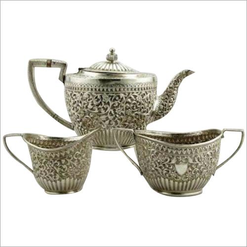 925 Silver Antique Tea Set