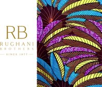 African Gold Print Fabric
