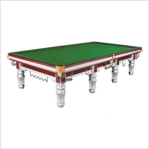 Antique Silver Snooker Table
