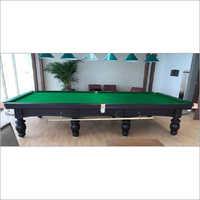 8 Legs Brown Snooker Table